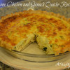Lime Chicken and Spinach Quiche Recipe