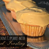Spiced Zucchini Cupcakes with Caramel Frosting