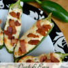 Stuffed Jalapenos With Crispy Bacon Quick and Easy ~Snack Recipe