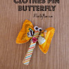Clothes Pin Butterfly ~ Easy, Fun, Snack Idea
