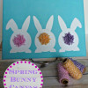 Spring Bunny Canvas Art ~ Easy DIY Craft
