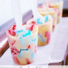 Red White and Blue Pudding Pop ~ #Recipe #July4th #SummerTreat