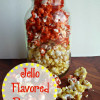 Jello Flavored Popcorn #Recipe #PopCorn #MovieNight