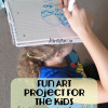 Fun Art Project For the Kids ~ Get Them Using Their Fine Motor Skills