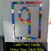 Lego Party Decor, Make Your Child's Age Out Of Legos! #LegoParty #Legos