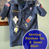 Sewing Patches On a Scout Shirt - Its Easier Than You Think!