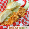 Buffalo Chicken Sliders ~ Finger Food Recipe, just in time for Football Super Bowl Party