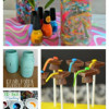 Crafts for Mom ~ Tie-Dye or Chalk paint vase, Graduation Pops, 3D Salt paintings