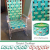 Lawn Chair Upcycle With Ducktape ~ great for glampers or themed parties