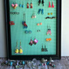DIY Earring holder, So easy and thrifty!