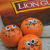 Lion Cub Oranges ~ Healthy Snacks For Kids, Lion Guard Party ideas #DisneyKids