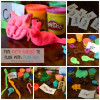 Easy Play-Doh Games for kids ~ Shape It and Make It