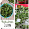 Healthy Snacks, How to make Crispy Kale Chips