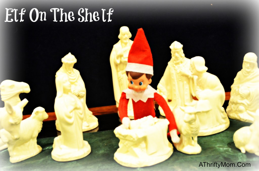 elf on the shelf baby jesus