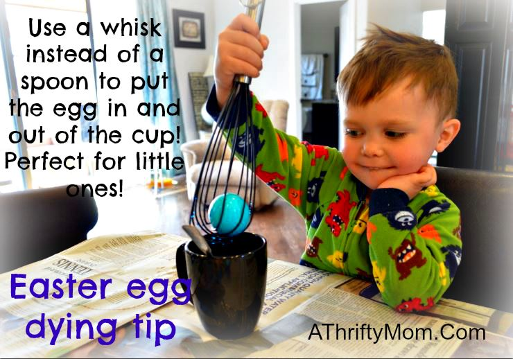 easter egg dying tip
