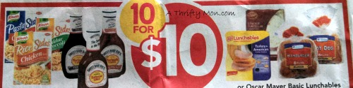 10 for $10 sale