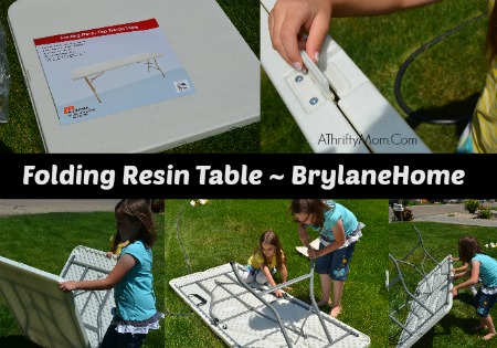 brylandHome folding table