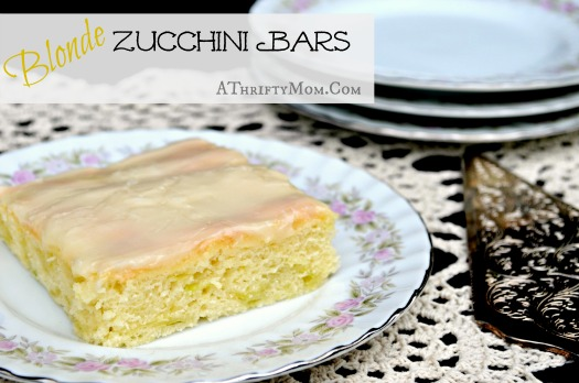 blonde zucchini bar recipe #zuchinni 2