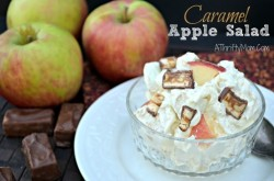 Caramel Apple Salad, Awesome dessert recipe to use fresh apples