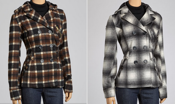 peacoat plaid