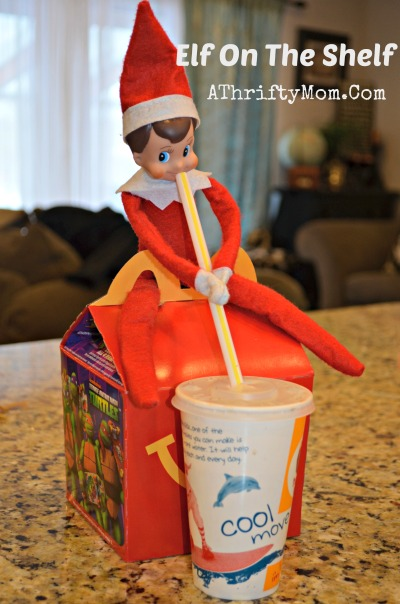 elf of the shelf day eighteen, Elf on the Shelf Ideas, What to do with an elf on a Shelf, Easy Elf on the Shelf Ideas