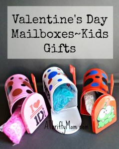 valentine's day mailboxes~kids gifts, #valentinesday, #valentine, #kidsgifts, #thriftygifts, #vinyl, #stickers, #personalizedgifts,
