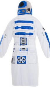 R2D2 bath robe star wars