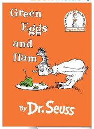 green eggs and ham,
