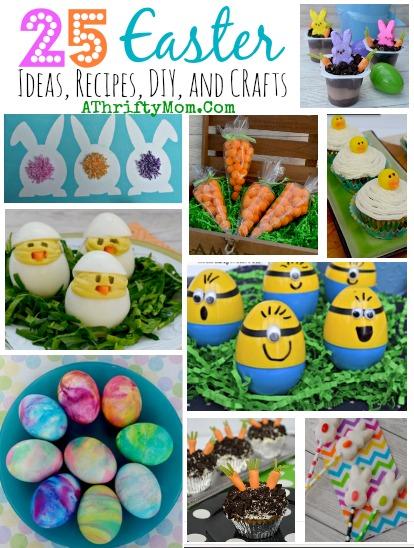 25 Easter Ideas, Recipe, Crafts, DIY #Easter everything you need in one spot