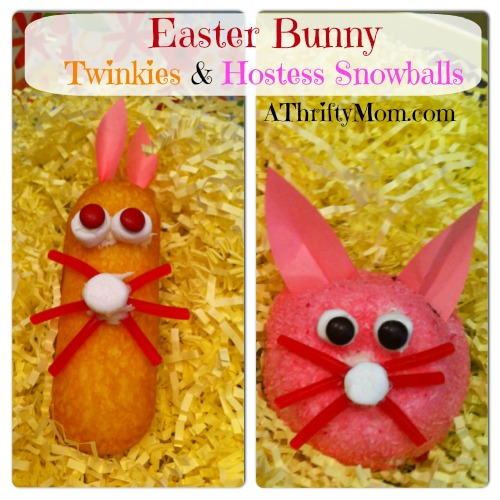 Hostess twinkie bunnies, Hostess snowball bunnies together, twizzlers, marshmallows, #hostesstwinkiebunnies, #hostesssnowballbunnies