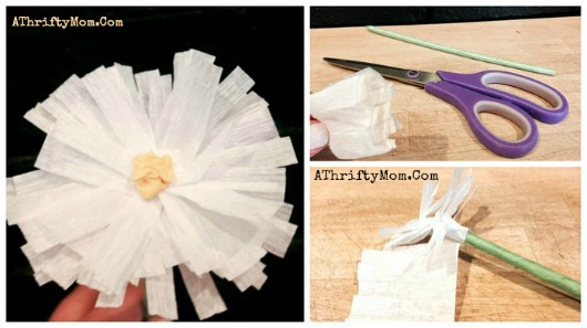 How to make a Paper Daisy, perfect for a Mothers Day craft for kids or a Teen party or birthday decor #paperFlower, #paper Daisy, #flowers, #MothersDay, #DIY