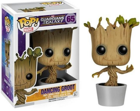 Guardians of the Galaxy Groot bobbing head toy