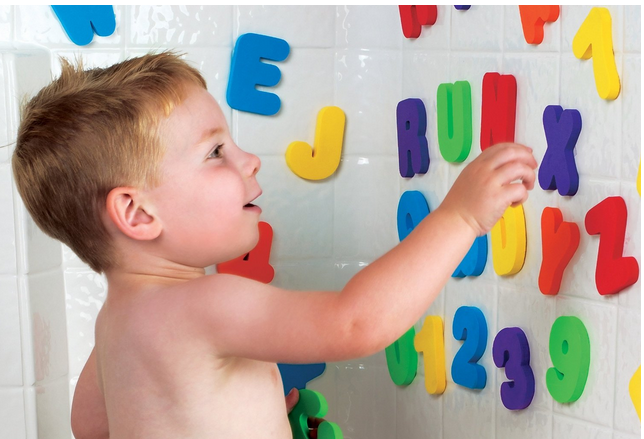 Munchkin Bath Letters and Numbers For Kids #BathTimeFun
