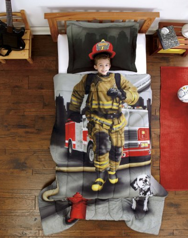 firefighter bedsheets