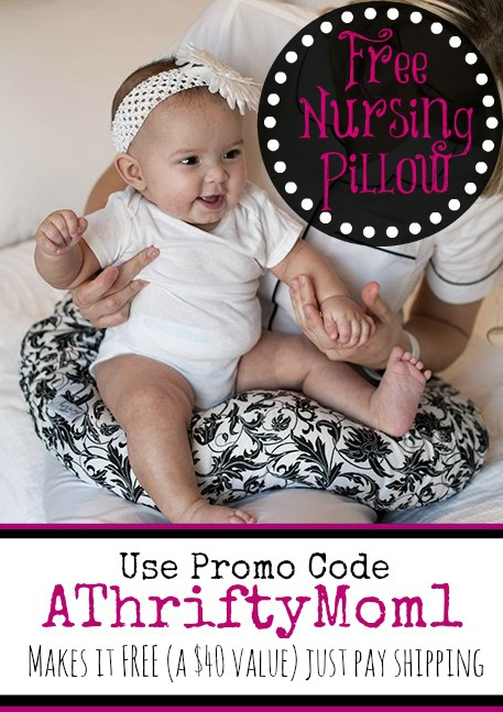 FREE NURSING PILLOW FROM NURSINGPILLOW.COM, USE PROMO CODE ATHRIFTYMOM1   #free, #babyGift, #nursing, #Baby, #newMom, #showerGi