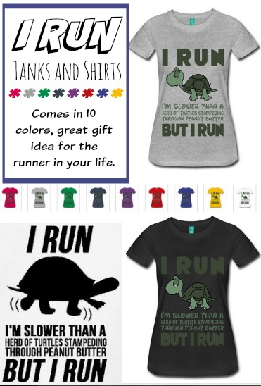 I Run shirt or tank, Funny Shirt for RUNNERS. GIft Idea for the runner in your life #Tshirt, #Run, #IRun