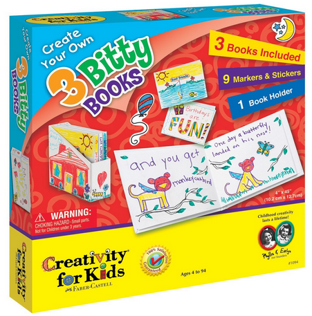 Create Your Own 3 Bitty Books #GiftForKids