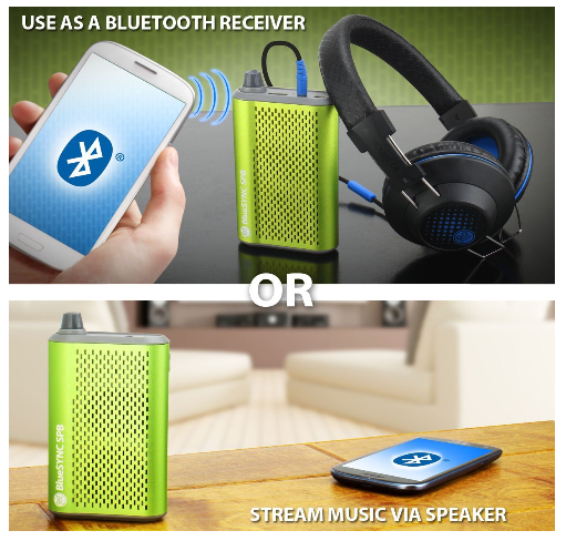 Gogroove BlueSYNC SPB Portable Battery with Wireless Bluetooth Speaker for Smartphones #TechieGift #StockingStuffer