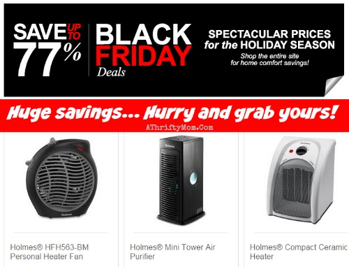 Holmes Black Friday Sale starts TODAY heaters, fans and more all on sale HURRY