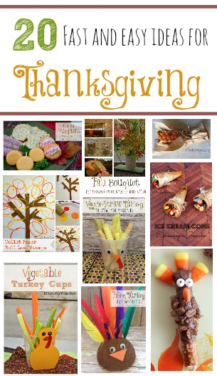 Thanksgiving recipe, crafts, DIY, snacks, printables and more. Everything you need for Thanksgiving for kids