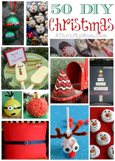 50 Christmas DIY Ideas Recipes Crafts Ornaments Kids