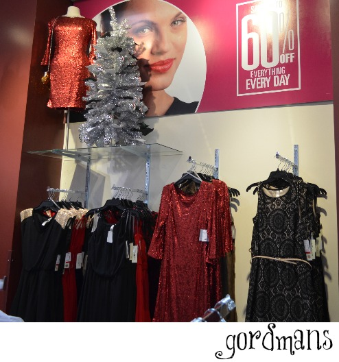 Christmas clothes for less, everything from t shirts to formal wear perfect for your Christmas Party.  All at a fraction of the price #Gordmans  Formal wear