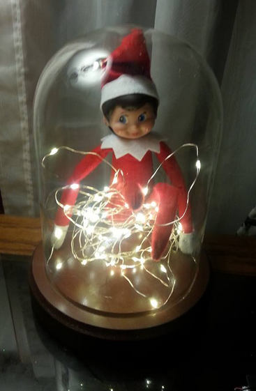 Elf on the Shelf easy ideas, What to do with your Elf, Silly Ideas for your Christmas Elf on the Shelf day 18