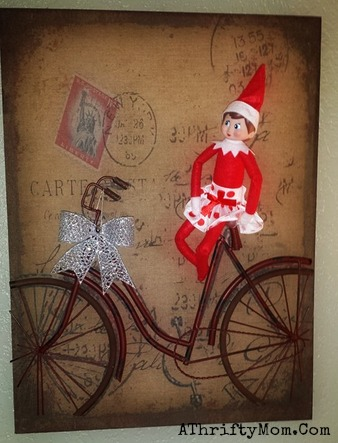 Elf on the Shelf easy ideas, What to do with your Elf, Silly Ideas for your Christmas Elf on the Shelf day 2