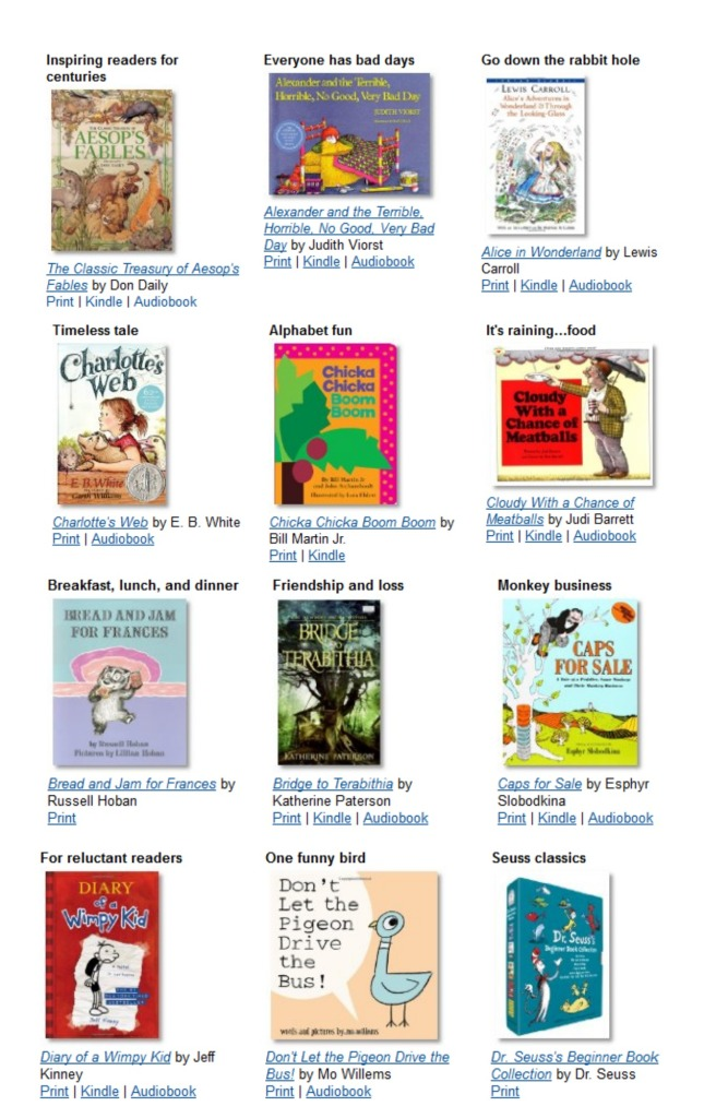 The Top Children's Books To Read In a Lifetime #KidsBooks