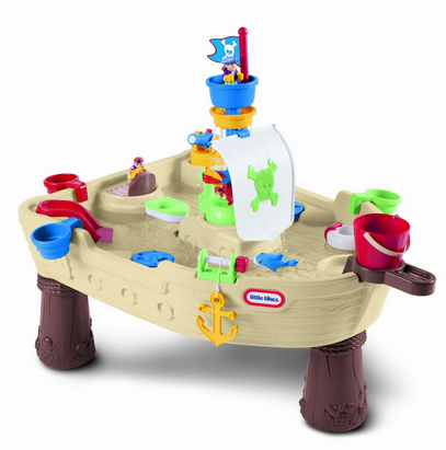 little Tikes Anchors Away Pirate Ship, sand and water table