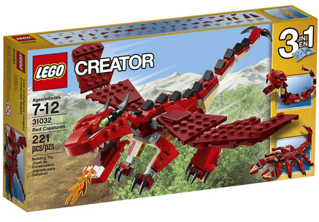 LEGO Creator Red Creatures 3-in-1 #GiftForKids