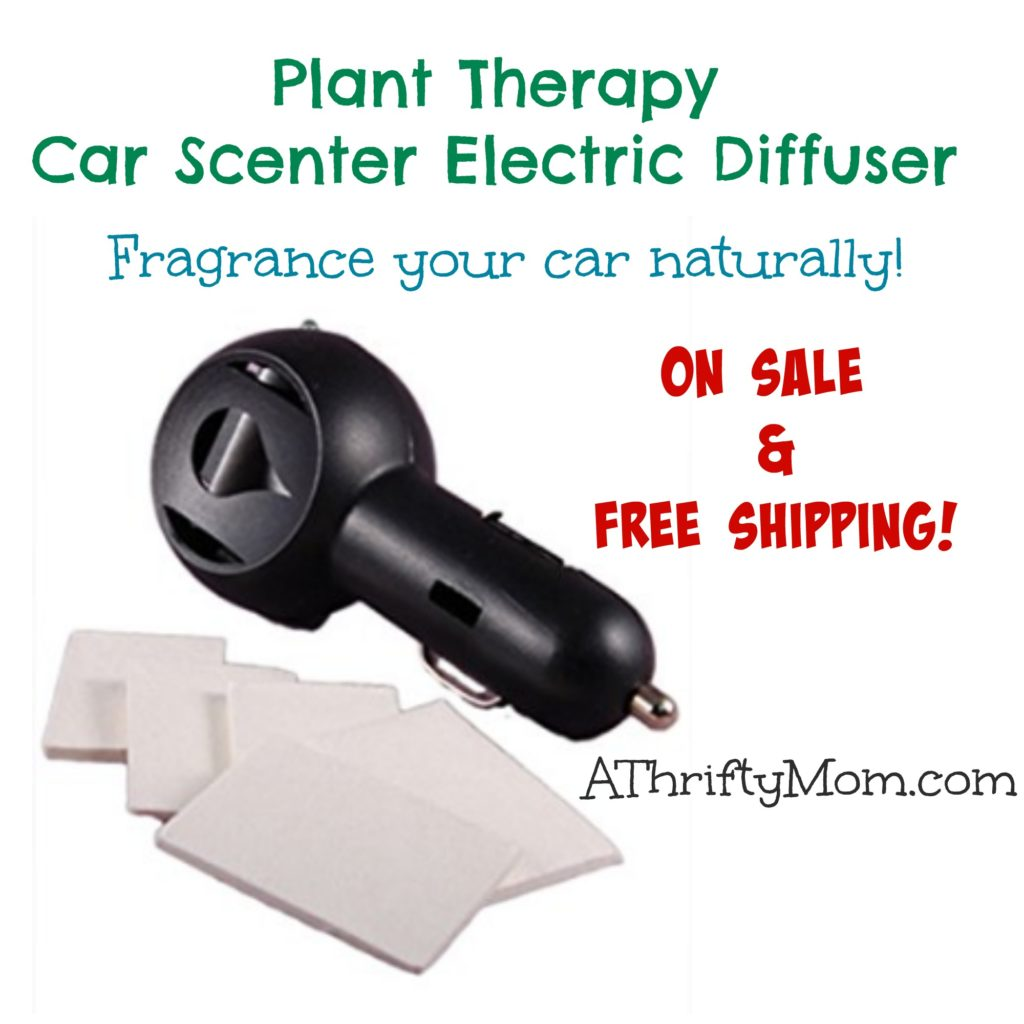 Plant Therapy Car Scenter Electric Diffuser - On Sale and Free Shipping ~ Fragrance your car naturally!