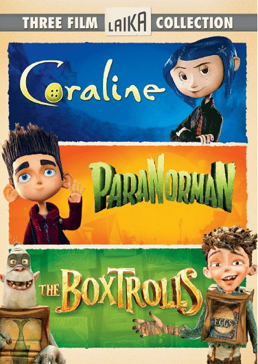 The BoxTrolls triplefeature  DVD and Blu-ray on sale with FREE shipping options, family movie night