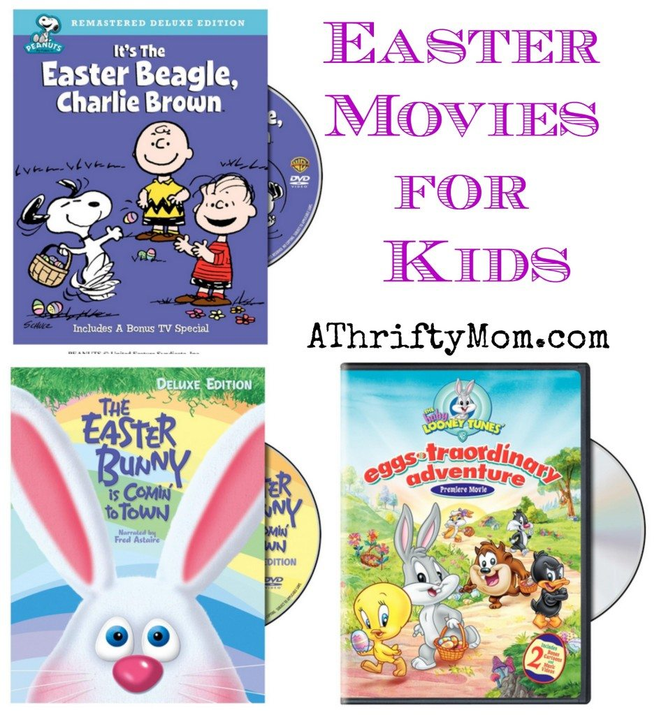 Easter Movies for Kids, Fun for the whole family - AThriftyMom